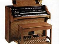 I have a White Oak Lowrey Celebration Organ for Sale.