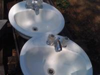 I have 13 white porcelain sinks for bathrooms or