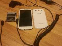 I'm selling my White Galaxy s3 (Sprint) (Clean ESN)