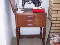 I have my Grandmothers White Sewing Machine for sale it