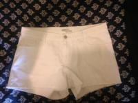 Clean White Pair Shorts. Only Worn Twice. I