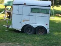 Two horse trailer for sale in Harrison, AR. It's an