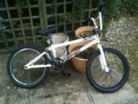 "white ""we the people"" bmx bike for sale, almost new,"
