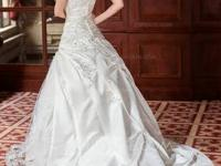 Gorgeous bridal gown. Used as soon as and left in great