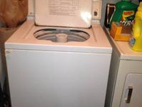 White electric dryer, large capacity, only $30. Also