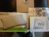 Wii game system includes the following games  Wii fit