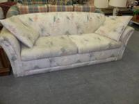 This White with Design LaZboy Sleeper Sofa is $189.00.