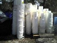 I HAVE 100 WHITE BUCKET FOR SALE NO LID 1.00 EACH AND 1