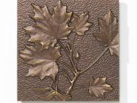 The Whitehall Products Maple Leaf Aluminum Wall Decor