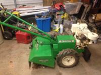 Looking to trade or sell my 8hp whites rear tine till r