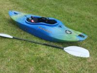 Whitewater kayak for sale. Specifications listed below.
