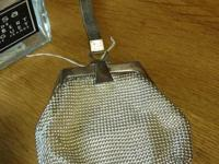 Vintage and collectible Whiting and Davis silver mesh