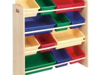 Kids can keep their own rooms neat and tidy with this