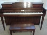 I am selling my Whittaker Piano for $1000 OBO. You must