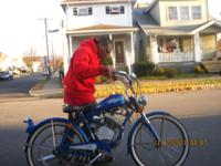 whizzer motor bicycle for sale runs great call gene