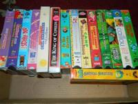 I HAVE 15 VHS TAPES FOR KIDS SCOOBY DOO RUGRATS AND