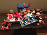 This lot of Imaginext toys includes; Batman cave,