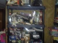 I am selling the whole lot of starwars action figures