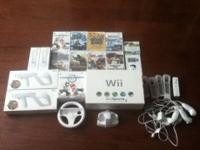 Hey up for sale is a whole Wii set up everything you
