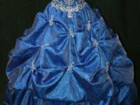 *Long Blue dress size 6 $219 comes with crinoline *Long