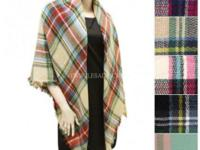 Selling the most popular ponchos and blanket scarves