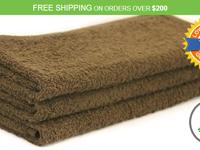 The all new 100% Cotton Salon Towels available at