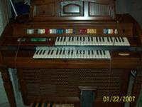 This is a Whurlitzer Church Organ From the 80's. This