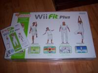 I have a Wi Fit Plus and Balance Board for sale. Both