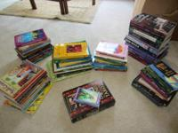 Lot of over 60 Books and Two sets of Tarot Cards-