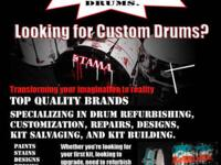 WICKED DRUMS www.wickeddrums.com Specializing in Custom