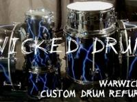 www.WickedDrums.com Wicked Drums specializes in Custom