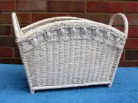 Wicker Baskets Only $12 for both baskets. Two old