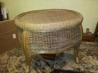 Wicker Coffee & 2 End Tables . These are Brand new..