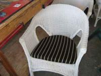 3 Piece wicker set in good condition.  $150.00