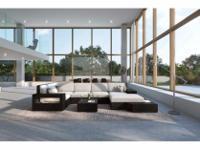 Type:GardenType:FurnitureWicker Lounge Set Messana -