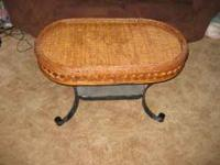 Well taken care of, wicker in excellent condition &
