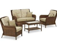 Wicker set by Ty Pennington, Mayfield Style. Very Nice