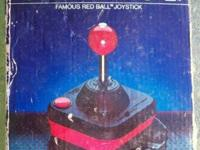 Vintage Wico Command Control Famous Red Ball Joystick