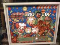 Wico Big Top Pinball Machine. Excellant condition