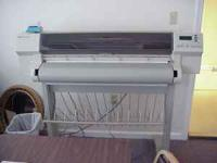 This is a wide scale HP750 printer for professional