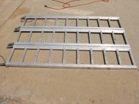 Up for sale is a Wide Tri-Fold Loading Truck Ramp that