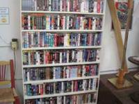 Wide variety of dvd's and vhs movies starting at just
