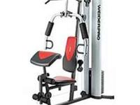 Wieder Pro 6900 Home Gym Last year's Christmas gift