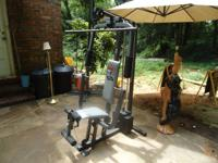The single-station Weider 8525 home gym features a full