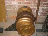 Old School Professional Weight Lifting Equipment By