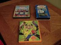 I have a Wiggles DVD, Thomas the Train DVD and Thomas