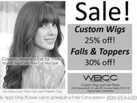 Visit our University Heights, Ohio Wig Studio. We offer