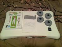For sale is the video game Wii Fit Plus.  Included:.