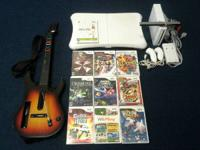 Nintendo Wii Bundle for sale. Included are: Wii console