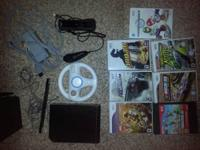 I'm selling my little brothers Wii and games for him.